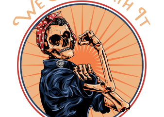 we can death it t shirt design for sale