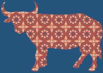 Bull Tshirt Design