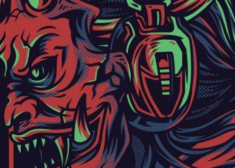 Street Devils T-Shirt Design