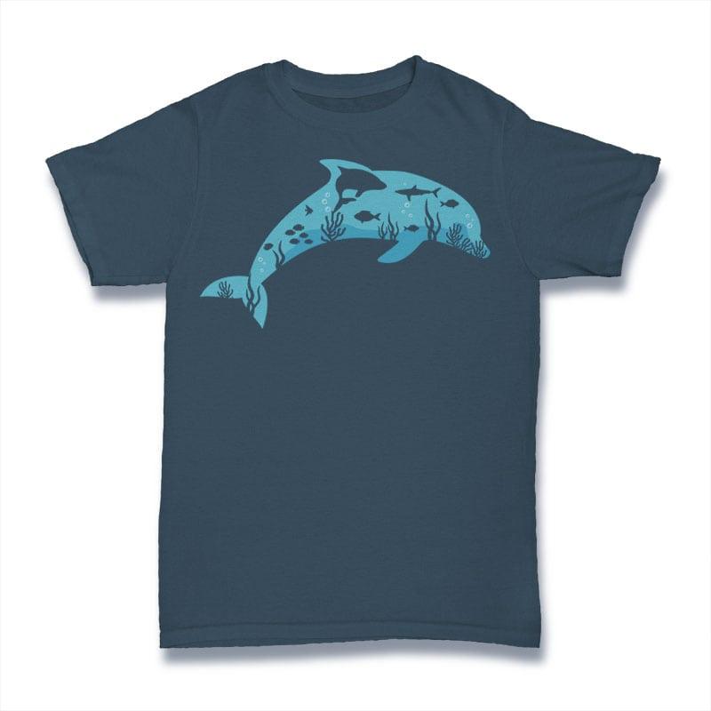 Dolphin Tshirt Design tshirt factory