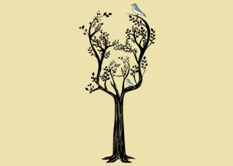 Guitar Tree Tshirt Design
