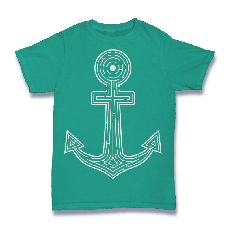 Labyrint Anchor Tshirt Design tshirt factory