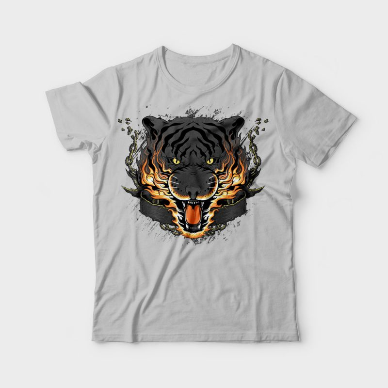 Dangerous t shirt designs for merch teespring and printful
