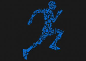 Runner Tshirt Design