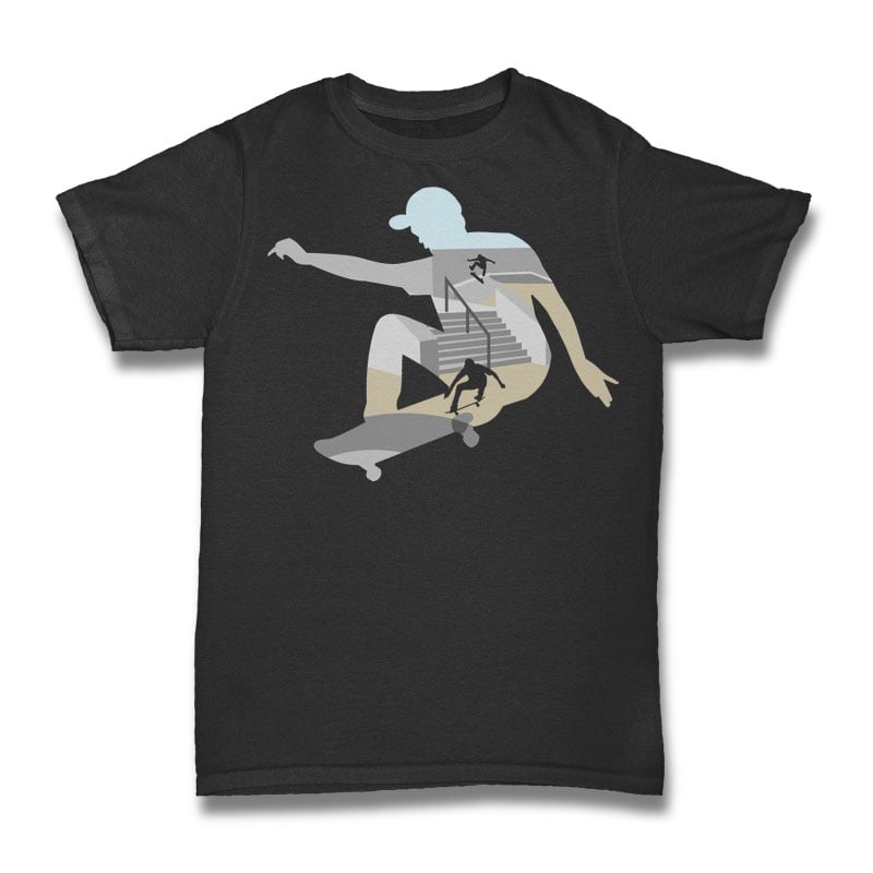 Skateboard Tshirt Design t shirt designs for sale