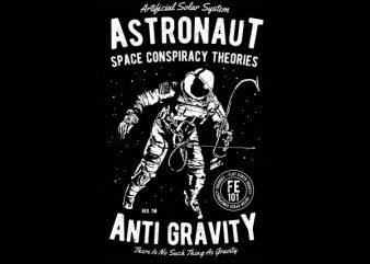 Space Conspiracy Theories Vector t-shirt design