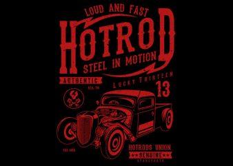 Steel In Motion vector tshirt design