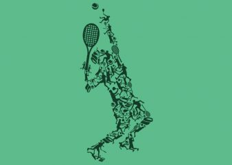 Tennis Tshirt Design