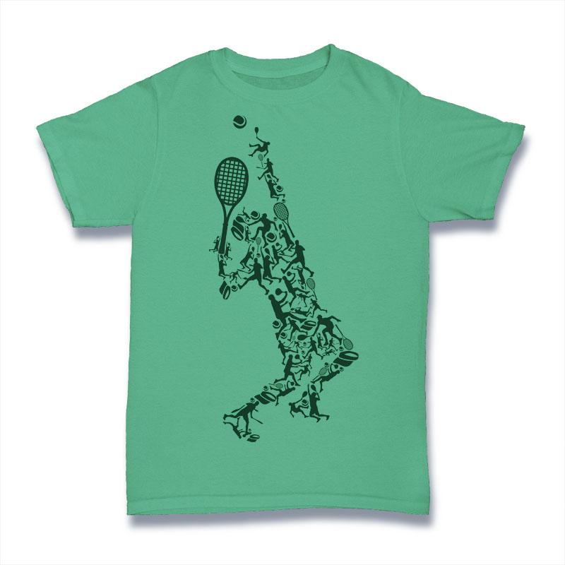 Tennis Tshirt Design t-shirt designs for merch by amazon