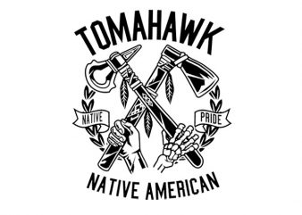 Tomahawk Tshirt Design