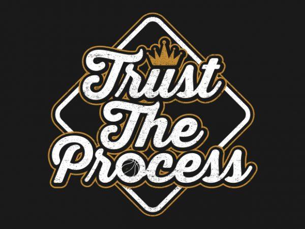 Trust The Process – Typography Design