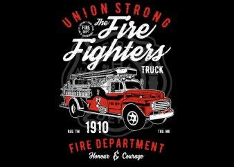 Union Strong Vector t-shirt design