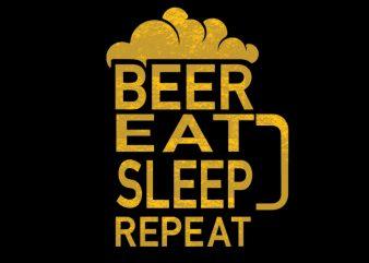 Beer Vector t-shirt design