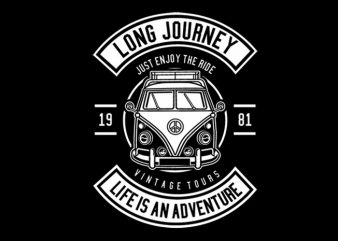 Van Long Journey Tshirt Design