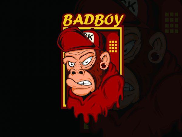 badboy t shirt template