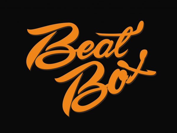 Beat Box t shirt design for purchase