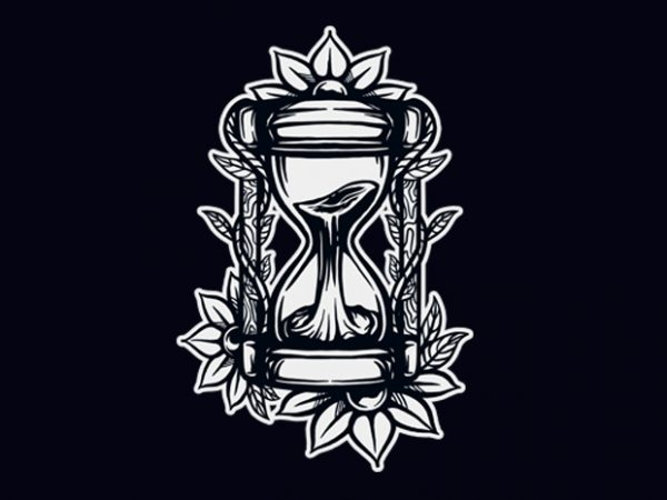 hourglass buy t shirt design for commercial use