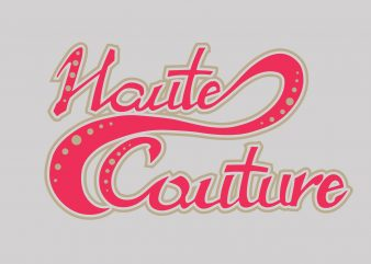 Houte Couture graphic t shirt