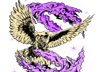 magic pigeon t shirt design for purchase