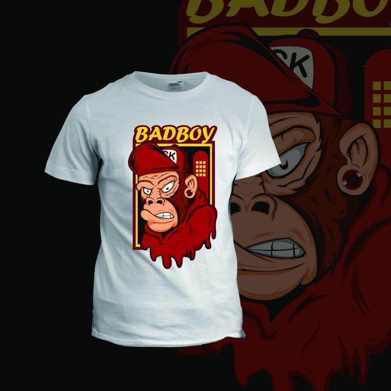 badboy t shirt designs for teespring