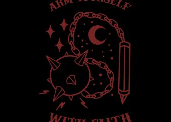 weapon tshirt design