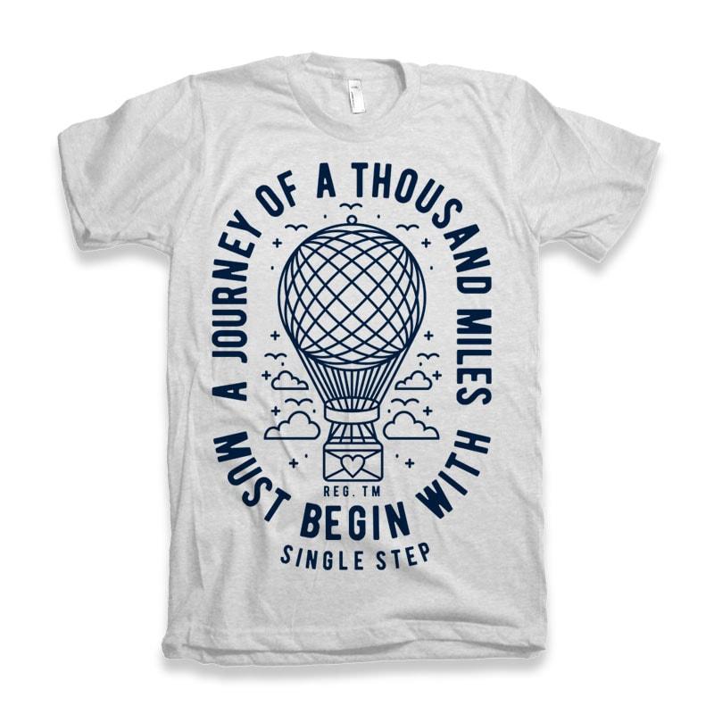 A Journey buy t shirt design