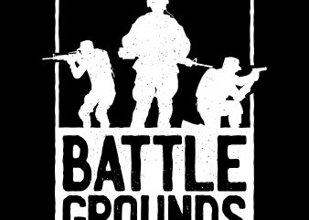 Battlegrounds Army t shirt design for purchase