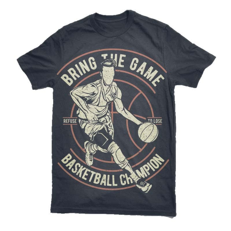 Bring The Game Graphic t-shirt design commercial use t shirt designs