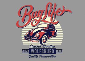 Bug Life t shirt template