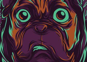 Pug Life T-Shirt Design