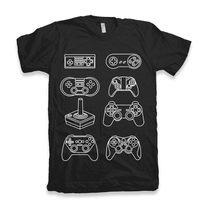 Control Freak vector t shirt design