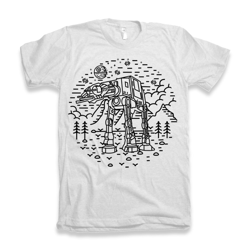 Dark Nature 2 vector t shirt design