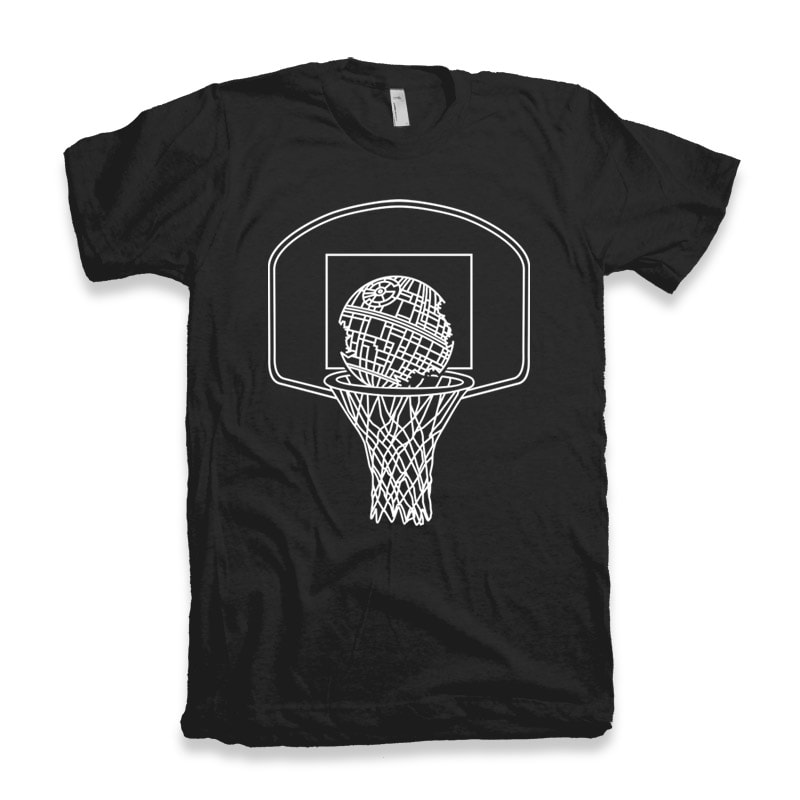 Death Basketball vector t shirt design