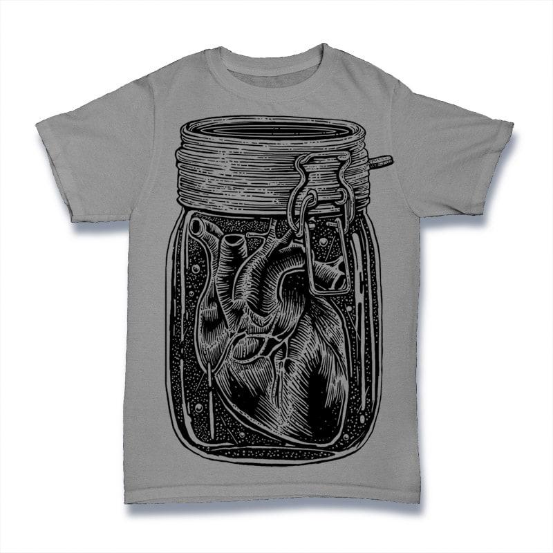 Jar Of Heart Tshirt Design tshirt-factory.com