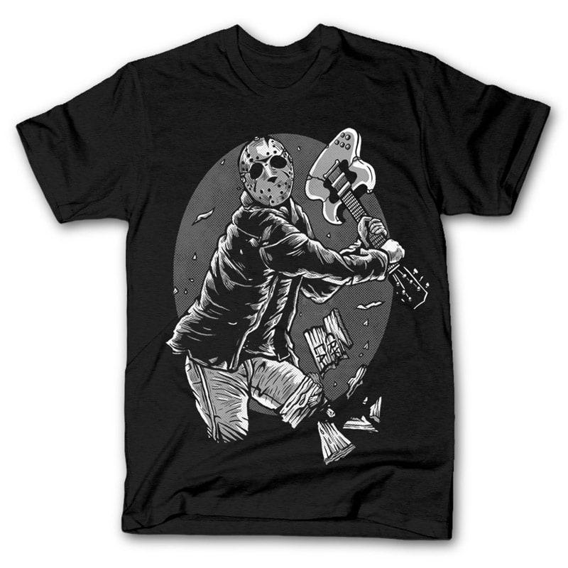 Jason Rock Tshirt Design tshirt-factory.com