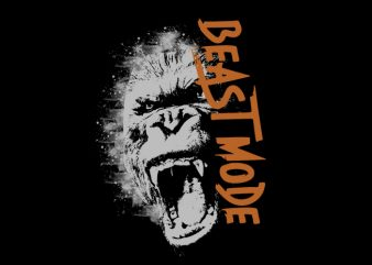 beast Vector t-shirt design