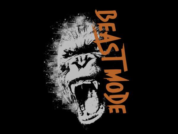 beast Vector t-shirt design