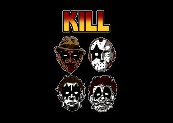 Kill t shirt design to buy