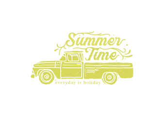 summer time buy t shirt design