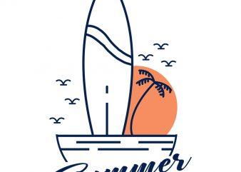 summer vibes 2 tshrit design