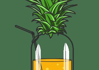 tropical juice t shirt designs for sale