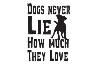 dogs never Vector t-shirt