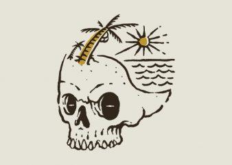 Skull Island buy t shirt design artwork