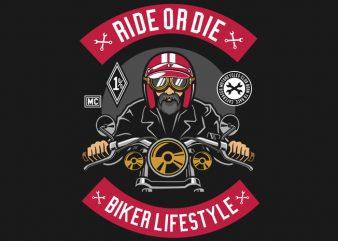 Biker t shirt design png