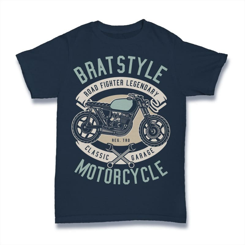 Brat Style Tshirt Design vector t shirt design