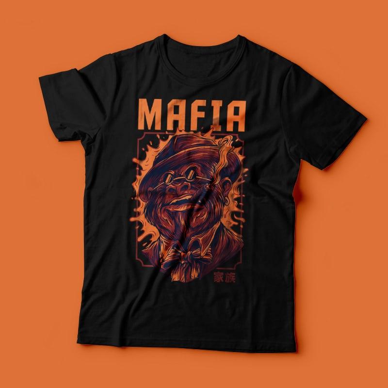 Mafia Remastered T-Shirt Design t shirt design graphic