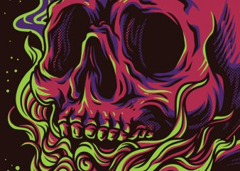 Skull Kids T-Shirt Design
