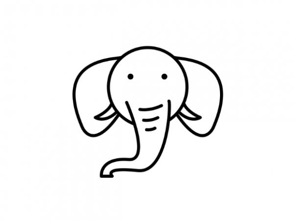 Cute Little Elephant Tattoo Vector T Shirt Design Buy Designs
