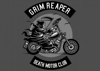 Death Motorcycle Club t shirt design png