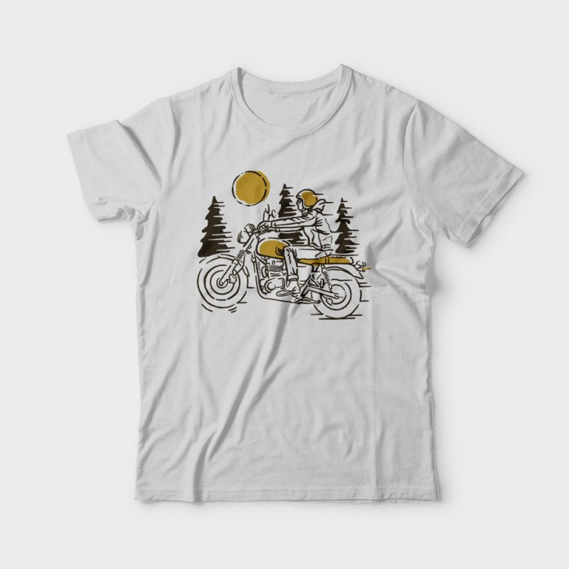 Classic Biker tshirt designs for merch by amazon
